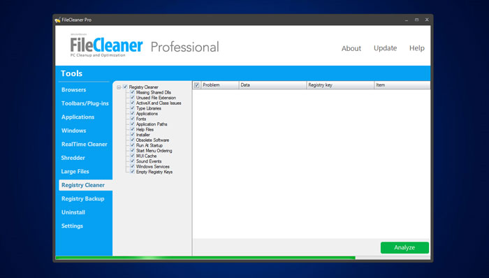 FileCleaner Pro free download.