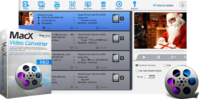 MacX Video Converter Pro 6.2 free download.