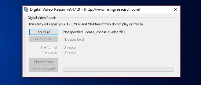 digital video repaire v3.4.1.0 download free