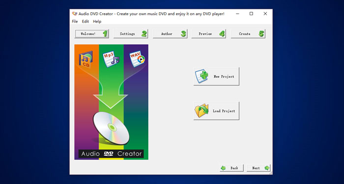 download audio dvd creator 1 9 1 for free wonderfulshare