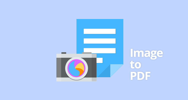 How can I convert image to a PDF file