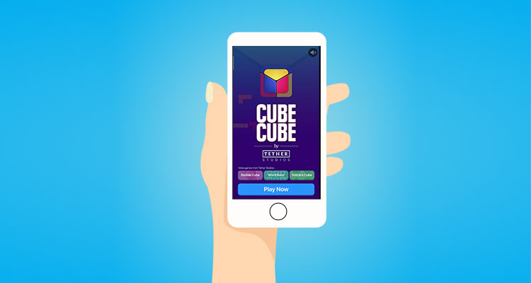 How to get your first free $50 by playing Cube Cube Game?