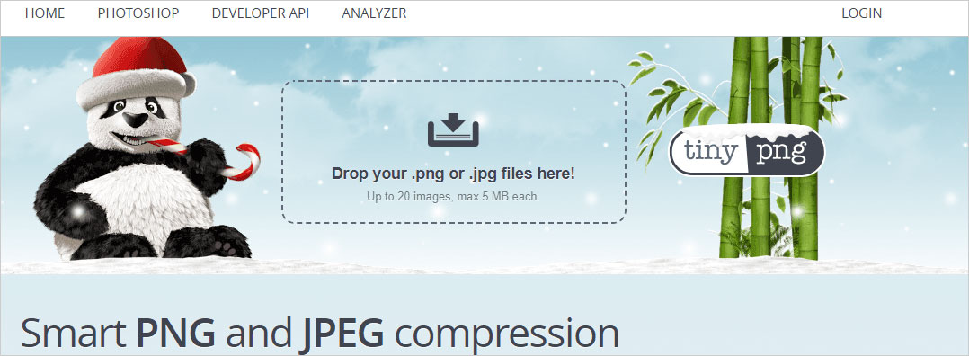 """""""tinypng.com""""site."""