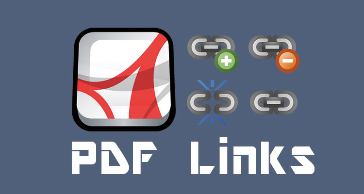 How to update and replace PDF links globally