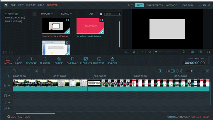 How to combine video files seamlessly - Wonderfulshare net