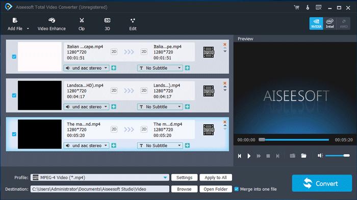 aiseesoft total video converter windows 10